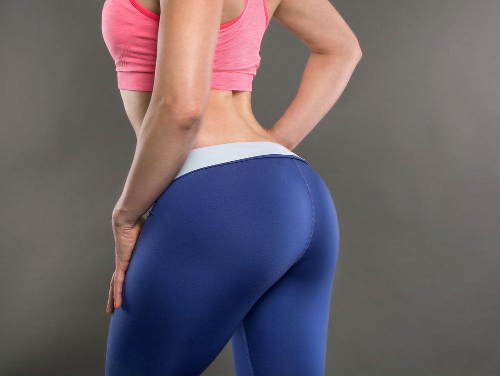 woman's posterior