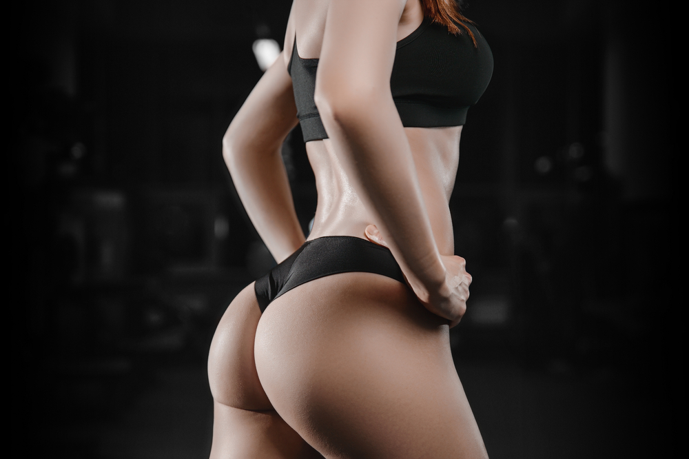 woman's profile posing