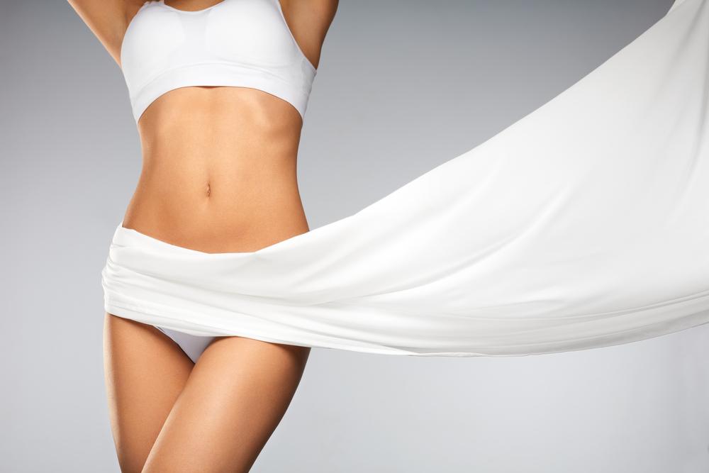 woman's figure posing